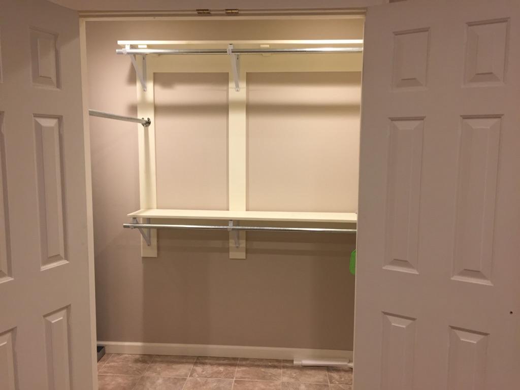 The Garrett Loft - Master Closet