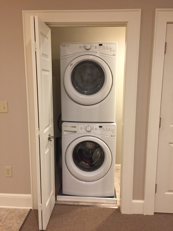 The Garrett Loft - Washer and Dryer