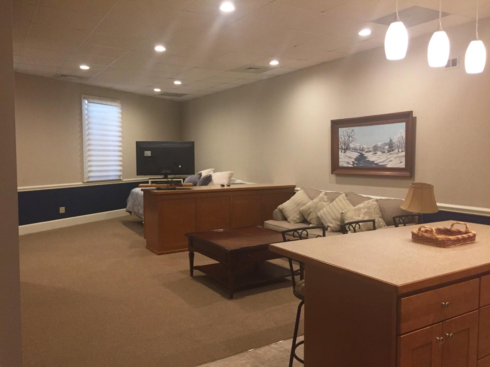 The Garrett Loft - Living Room